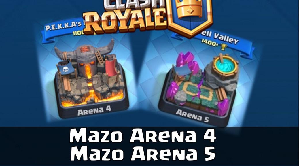 Portada Mazo arena 4 y arena 5